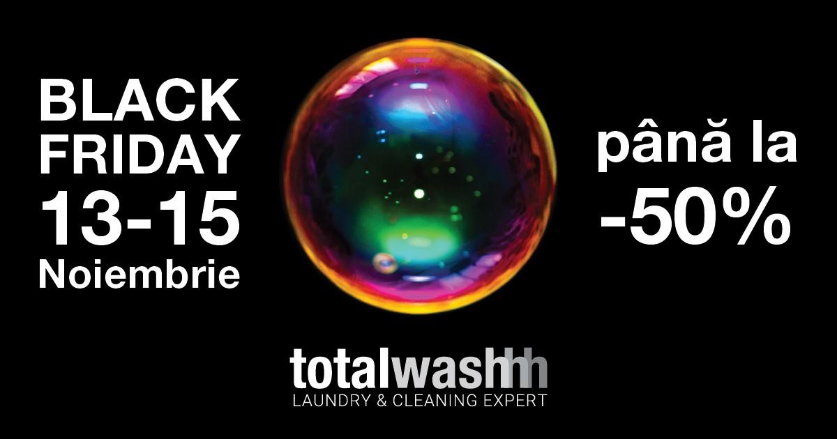 black friday total wash balotesti
